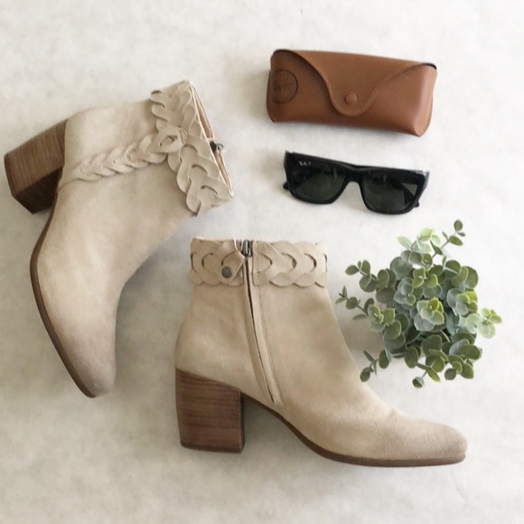 Geox suede ankle boots